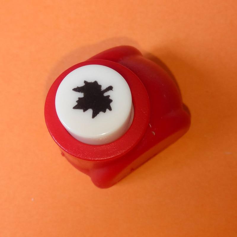 1 шт./лот, мини-дырокол для рукоделия, для скрапбукинга, Дырокол ручной работы, дырокол для рукоделия, подарочная карта, бумажный дырокол, CL-1203 - Цвет: maple leaf