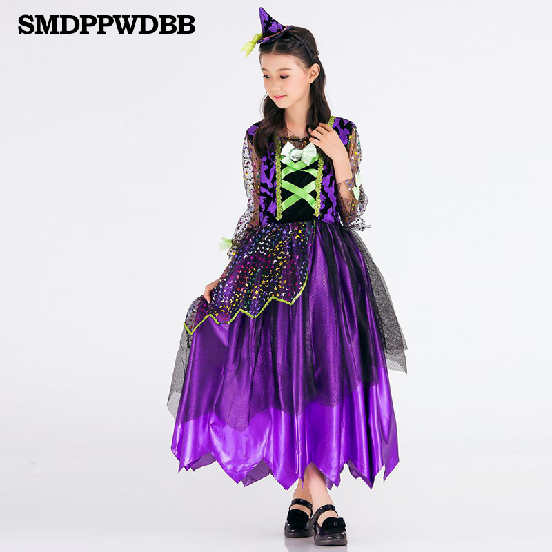 SMDPPWDBB Halloween Costume For Kids Girls Costumes For Halloween Kids Dresses for Girls Girls Dress Halloween Princess Party