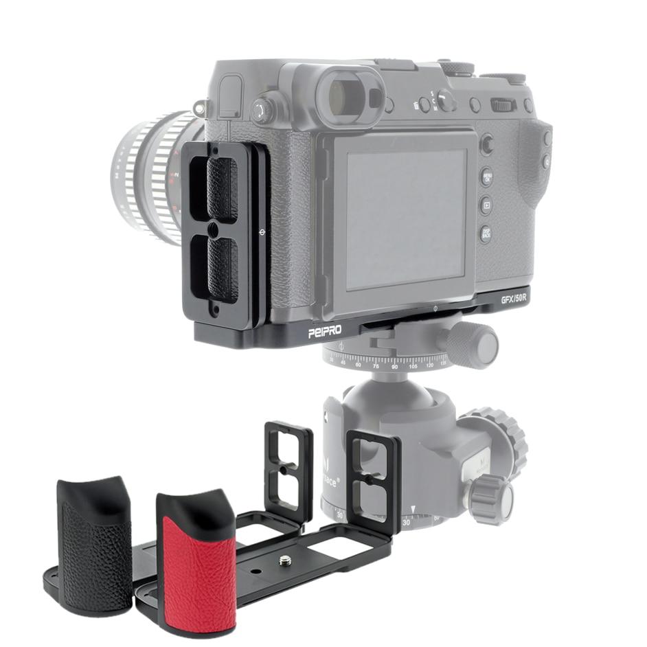 PEIPRO Quick Release L-plate Bracket Camera Hand Grip For Fujifilm GFX 50R `,