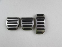 Алюминий автомобильные аксессуары для VOLVO XC60 S60 S60L V60 на горе акселератора газа ног изменение педали колодки