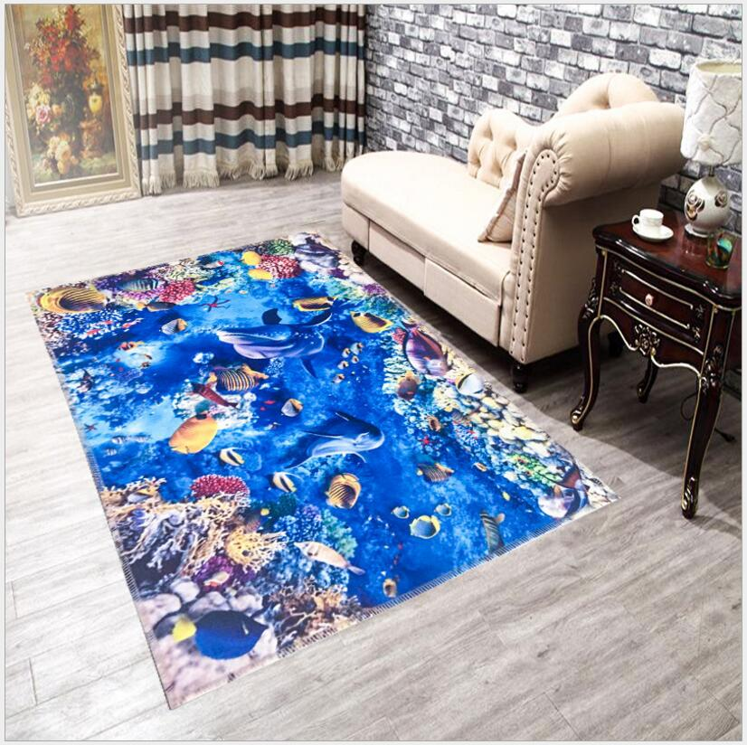 160 X 230cm Big Size 3d Carpets Home Rugs And Carpets Anti Skid