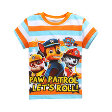 Children T Shirt For Boys girls Print kids Tee cartoon Cotton Short Sleeve Fashion child T shirt Tops Clothing free shipping