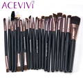 20 Pcs Professional Makeup Brushes Set Powder Foundation Eyeshadow Eyeliner Lip Cosmetic Brushes Maquiagem StockClearance