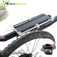 ROCKBROS Bicycle Carrier Cargo Racks Aluminum MTB Mountain Bike Frame With Fender Black Outdoor Cycling Accessories