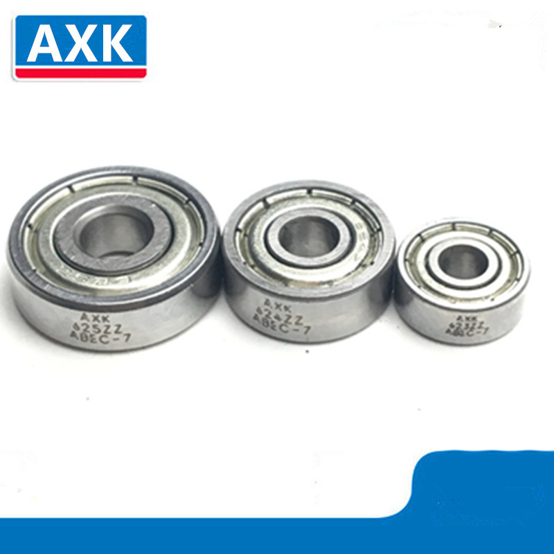 10Pcs Double Shielded Miniature Bearing Chrome Steel 608ZZ 105ZZ 623ZZ 624ZZ 625ZZ 685ZZ F623ZZ <font><b>604ZZ</b></font> Deep Groove Ball Bearing image