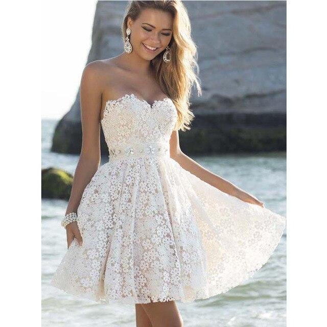 68b38de747e6 PANJOINER Sexy White Lace Women Dress Backless Strapless Sleeveless Evening  Party Dress Vestidos D451