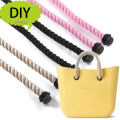 1 Pair Hemp Rope handles for Obag Accessories DIY Women's Bags  Shoulder Bag Handbag Handle Size Long or short o bag accessoires