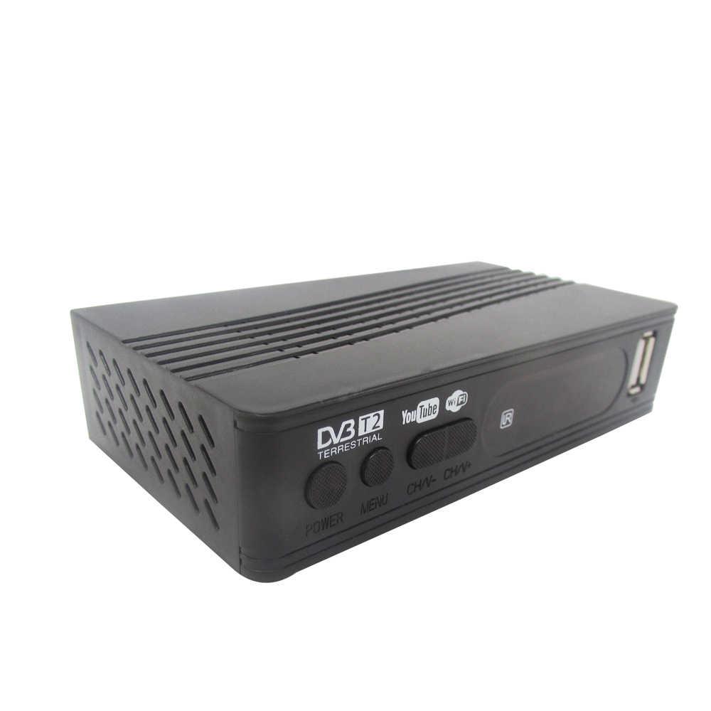 DVB-T2 récepteur Satellite DVB-T récepteur de télévision numérique HD récepteur MPEG4 DVB T2 H.264 récepteur de télévision terrestre DVB T décodeur vs K3