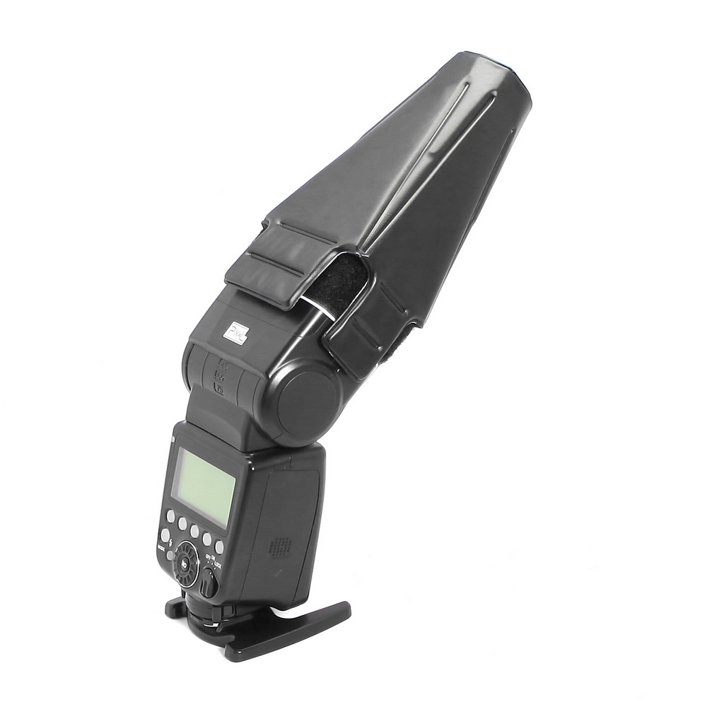Meking Universal Collapsible Snoot For Speedlite Compatible With Canon Nikon Yongnuo Flash