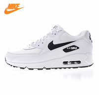 NIKE AIR MAX 90 ESSENTIAL Men's and Women's Running Shoes,White, Breathable Shock absorbing Lightweight 325213 131