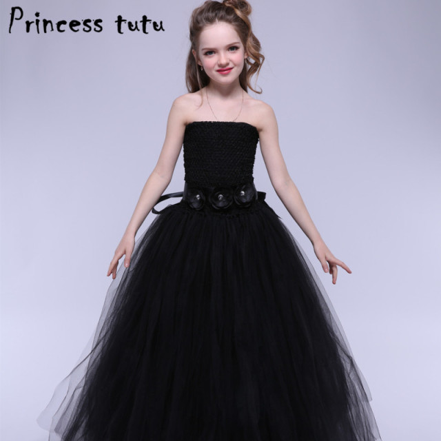 Elegant Formal Handmade Wedding Dress Girl Party Dress Up Ball Gown ...