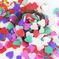 Hot!1000PCS Mixed Paper Heart Confetti Wedding Confetti For Birthday Party Wedding Table Decoration Supplies
