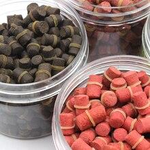 240pcs/bag 200g 4 flavors carp fishing bait smell Grass Carp Baits Fishing lure formula insect particle suit