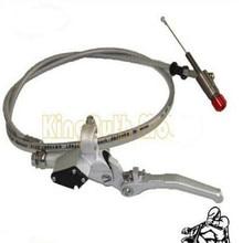 brake clutch levers hydraulic lever 120cm Silver