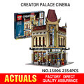 2017 Nueva LEPIN 15006 2354 unids Palacio Cine Modelo Building Blocks set Mini Juguetes de Los Ladrillos Compatible con 10232 Regalo