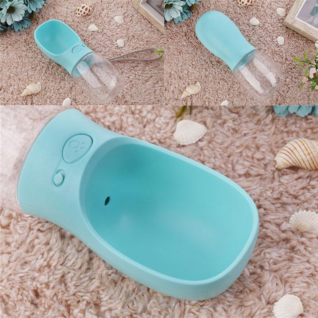 Portable BPA Free Dog Water Bottle