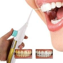 Портативный зубная нить беспроводной Оральный ирригатор воды Flosser мощность струи чистки зубов полости рта протез очиститель ирригатор полости рта