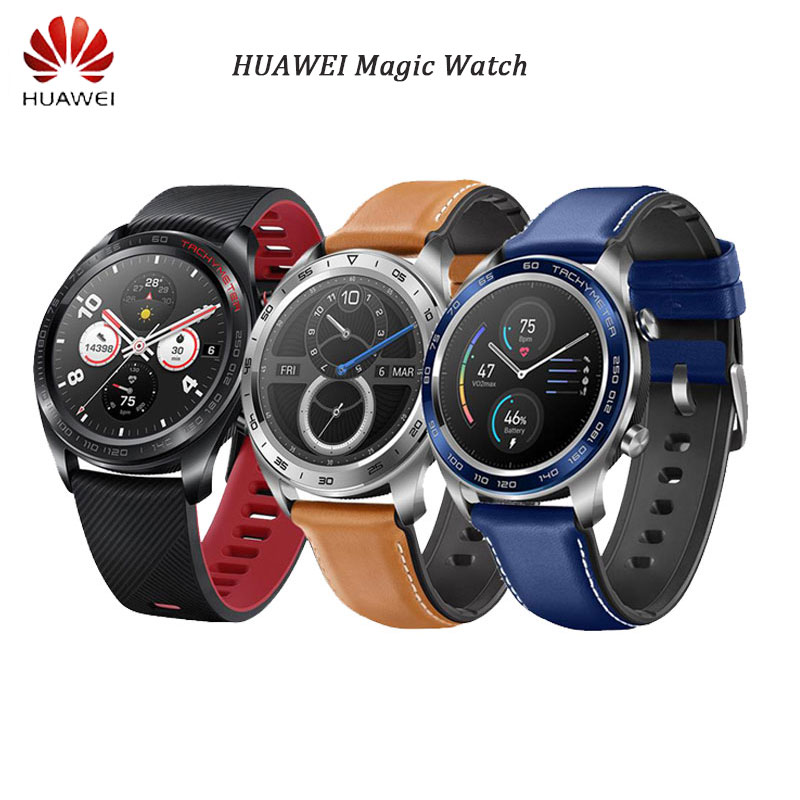 Huawei Honor Watch Magic SmartWatch Sports NFC GPS Heart Rate Sleep Pressure Monitor Long Battery Life