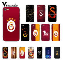 Yinuoda Turki Galatasaray Coque Shell Ponsel Case untuk iPhone 8 7 6 6S 6Plus X XS Max 5 5S SE XR 10 Cover(China)