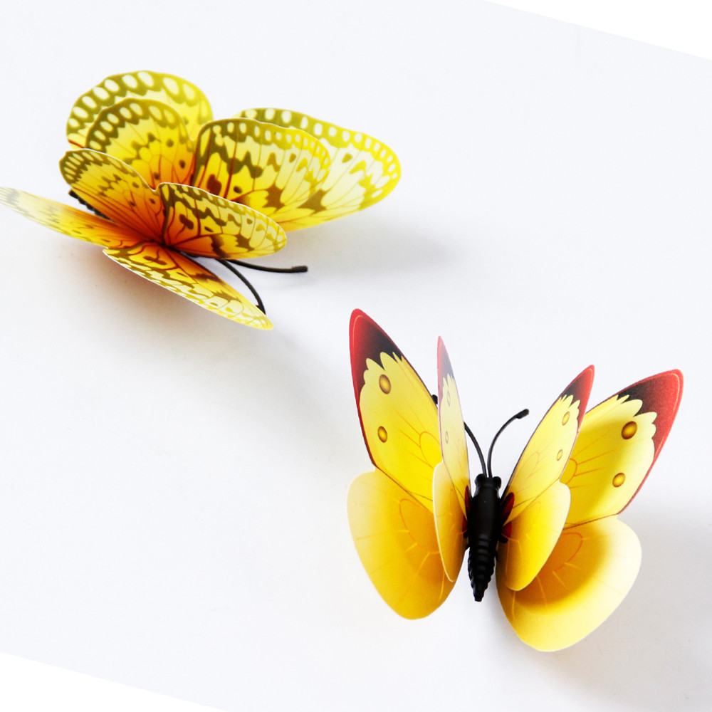 Amazing Butterfly 3d Wall Art Mold - The Wall Art Decorations ...