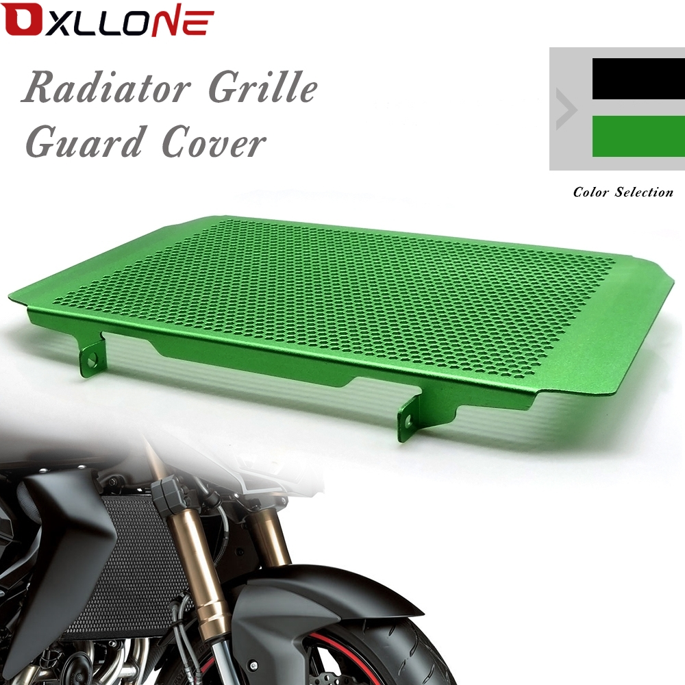 Motorcycle radiator grille guard protection for kawasaki z750 2007 2012 z800 2013 2017 z800e 2013 2017