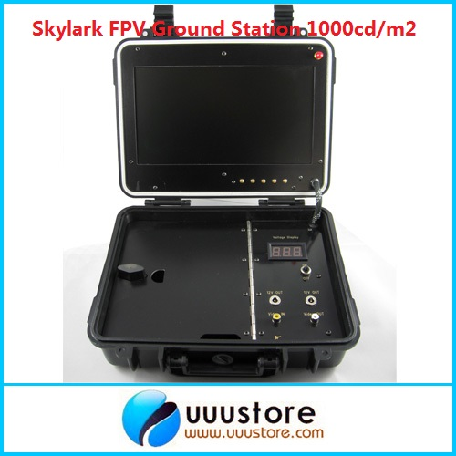 Skylark Outdoor Ground Station Highlight 1000cd/m2 (No blue Screen) Professional Fpv Bright Display Monitor