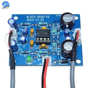 Image 3 - NE5532 OP AMPステレオアンプ基板オーディオハイファイスピーカーアンプモジュール制御ボード回路サウンド開発arduino