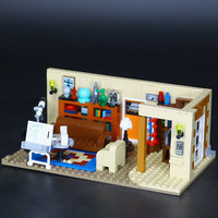 L Models Building toy Compatible with Lego L16024 519Pcs The Big Bang Blocks Toys Hobbies For Boys Girls Model Building Kits