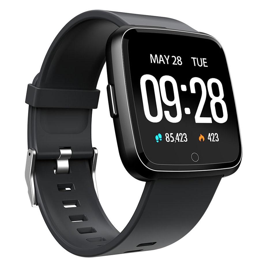 Fitnessgeräte Freundschaftlich Wasserdicht Aktivität Schlaf Herz Rate Fitness Pedometer Smart Uhr