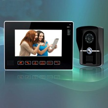 YobangSecurity 9″ Video Audio Intercom Doorbell Video Door Phone Bell Access Control 1 Camera 1 Monitor for Home Security System