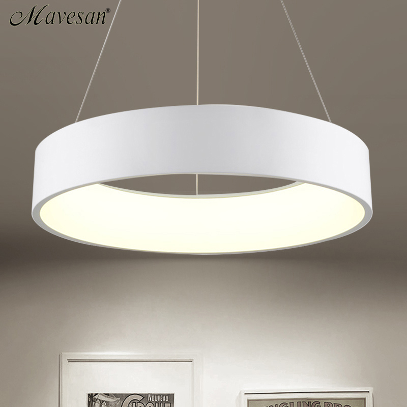 new LED Simple Pendant Lights Lamp For Living Room Lustre Pendant Lights 3 round shape Pendant Ceiling Fixtures 2018 new 36w led simple cord pendant lights lamp for living room lustre pendant lights 3 square shape pendant ceiling fixtures