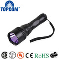IP 68 IP Rating UV Diving Flashlight Waterproof 390-395nm Diving UV Flashlight