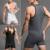 Magros dos homens sensuais Frente Aberta Cor Sólida Sem Mangas Homem Gay Bodywear Bodysuit Bodyshaper Musculação Top Homem Roupas