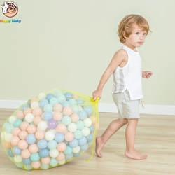 50 шт. в партии Экологичный красочный шар пластиковый океан шар Забавный ребенок бассейн игрушка водный бассейн океан волна шар