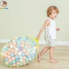 Happymaty 50 шт/заказ экологические цветные шарики Пластик океан