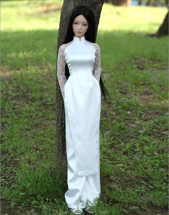 1/3 scale nude BJD female SD big girl doll Resin figure