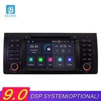 Besina 1 Din Android 9,0 Автомобильный DVD плеер для BMW E39/E53/X5/M5 gps навигации Мультимедиа вайфай автомобиль радио Bluetooth Autoaudio