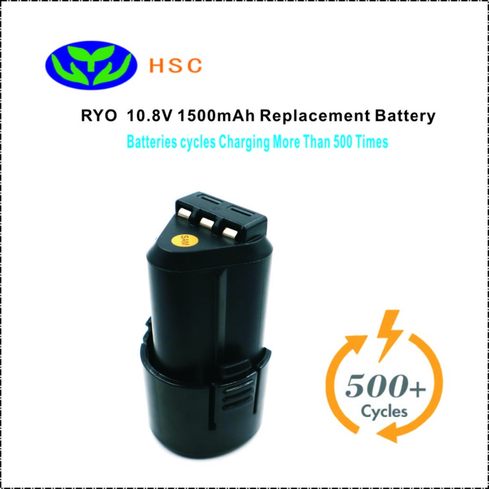 1500mAh 18650 Battery Pack RYO10 8 Lithium ion Battery 10 8V Replacement Ryobi B 1013L Original