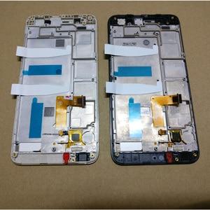 Image 4 - עבור Huawei ליהנות 5S GR3 TAG L01 TAG L03 TAG L13 TAG L22 TAG L21 LCD תצוגה + מסך מגע Digitizer עצרת + עם מסגרת