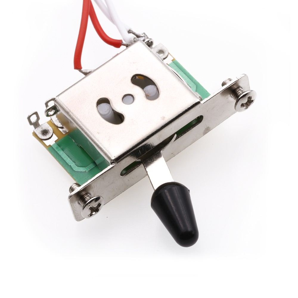 Electric Guitar Pickup Harness 1v2t 5 Way Switch 500k Pots Useful Wiring For All The Products Are Brand New And Directly From High Tech Factories