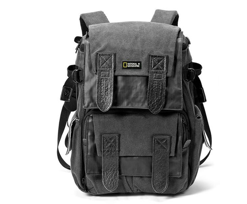 wholesale  NEW NATIONAL GEOGRAPHIC NG W5071 DSLR camera Case knapsack Travel 15.6 laptop canvas photo Backpack Travel daypack wholesale genuine lowepro flipside sport 20l aw dslr photo camera bag daypack backpack with all weather cover