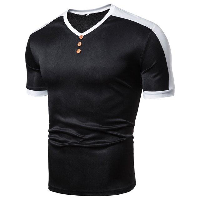 MarKyi Patches Tshirt Men...