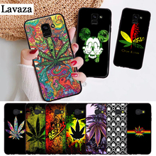 Lavaza Abstractionism Art high weed Silicone Case for Samsung A3 A5 A6 Plus A7 A8 A9 A10 A30 A40 A50 A70 J6 A10S A30S A50S