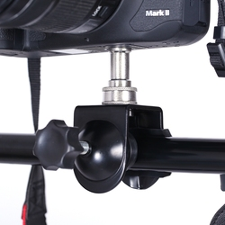 CY hot sale Free shipping 1 pcs Heavy Duty Clip Clamp C / U Type Photo Studio Light With Stand 1/4