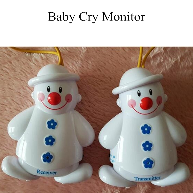 Baby Bedding Sleeping Monitors Snowman Wireless Baby Cry Detector Watcher Alarm Reminder Infant&The Aged Safe Call Baby Stuff