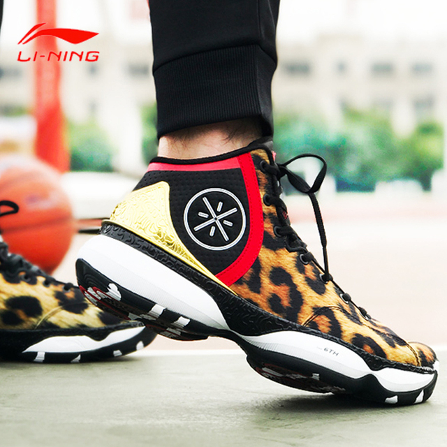 Li-Ning Men's Wade the 6th Professional Basketball Shoes Stability Cushion Sneakers Support Sport Shoes ABAM017