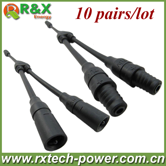 MC3 Y branch solar connector 10pairs/lot, PV connector MC3Y branch connector, factory price, high quality, fast delivery.