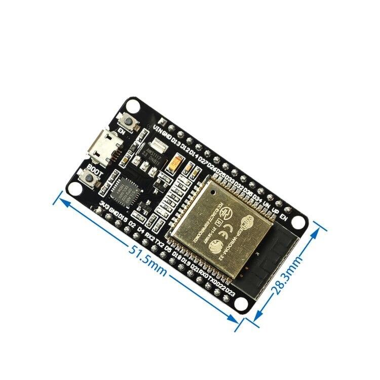 Esp8266 esp32 placa de desenvolvimento wifi + bluetooth ultra-baixo consumo de energia núcleo duplo ESP-32 ESP-32S esp 32 semelhante esp8266