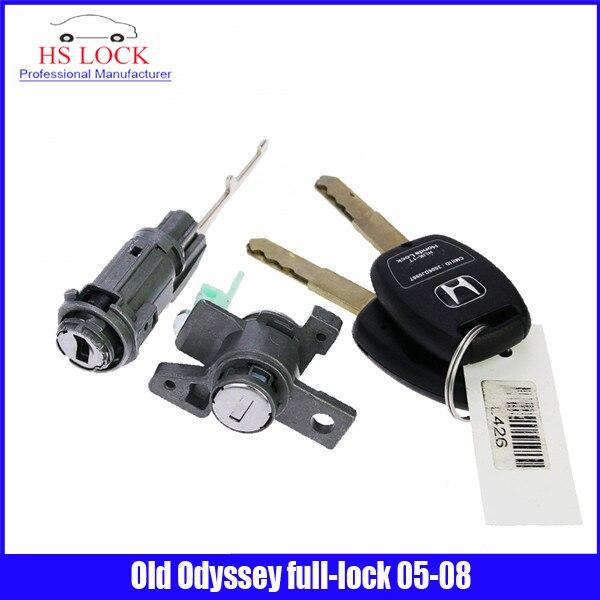 professional Locksmith Supplies for Old Odyssey full-lock 2005-2008year With Car Key Locksmith Tools