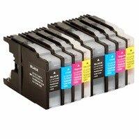 Inkt Cartridges Vervanging Voor LC450/1280 Lc 1280 LC450 LC1280 MFC-J955DN MFC-J955DWN MFC-J705D MFC-J705DW MFC-J825DW